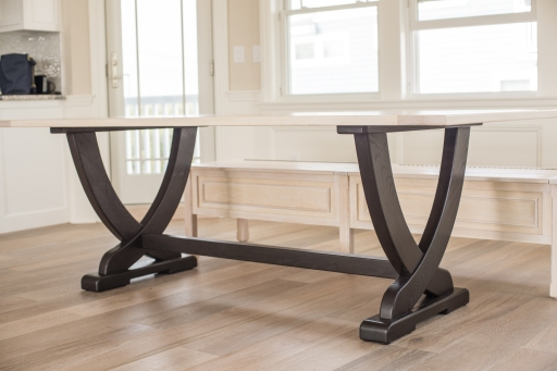 The Ester Table on delivery day