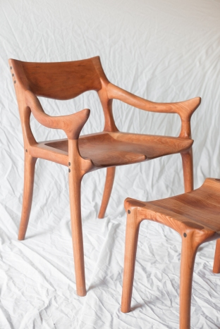 Maloof-inspired chair