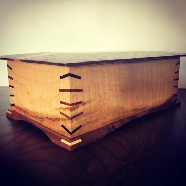 Heirloom jewelry box